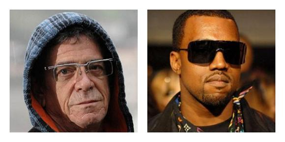 Lou Reed Is In Love With Yeezus