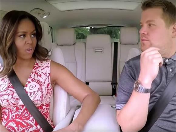 Michelle Obama May Have Delivered The Greatest Carpool Karaoke Yet