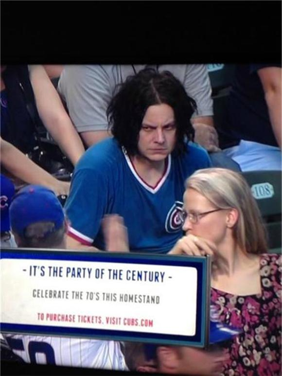 Does Jack White Have Bitchy Resting Face?
