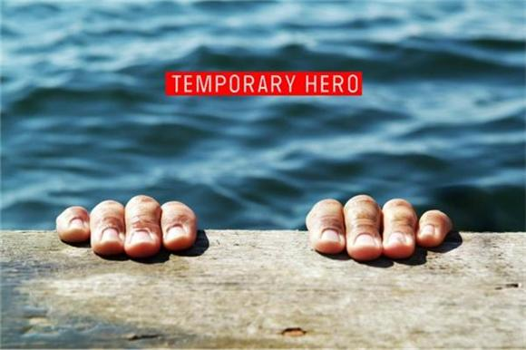 Video Premiere: Temporary Hero