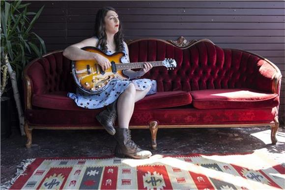 Baeble First Play:  Terra Lightfoot's Garage Rock Stomper