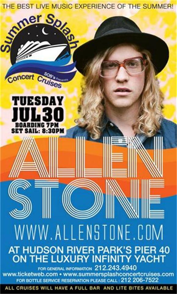 Win A Pair Of Tickets To See Allen Stone On A Luxury Cruise