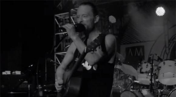 See Thom Dance at Atoms For Peace's World Tour Rehearsal