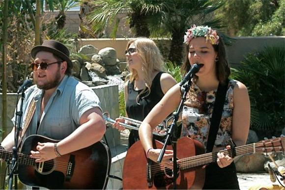 Now Playing: Of Monsters And Men Soak Up Some Sun In Session