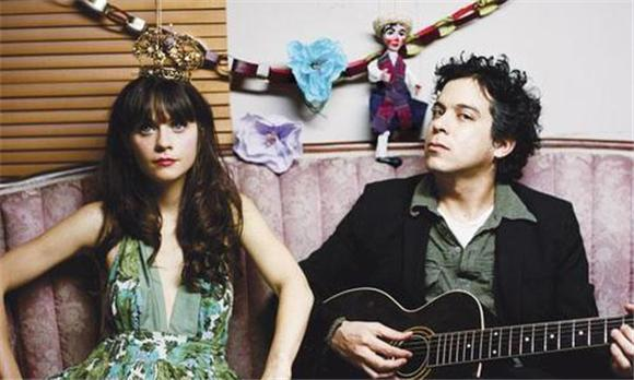 new music video: she and him