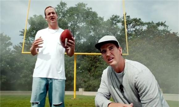 Unsportsmanlike Conduct From Eli and Peyton Manning