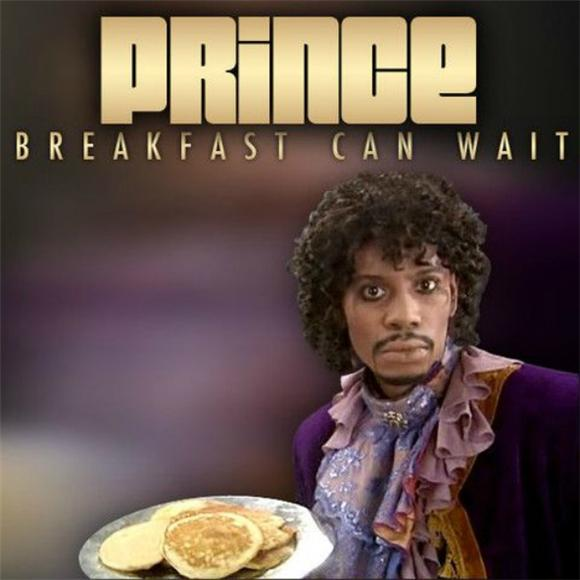 Prince Uses Dave Chappelle on 'Breakfast Can Wait' Cover Art