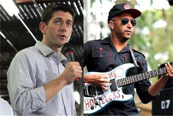 Paul Ryan's Fan Boy Nightmare: What If Your Favorite Band Hates You?