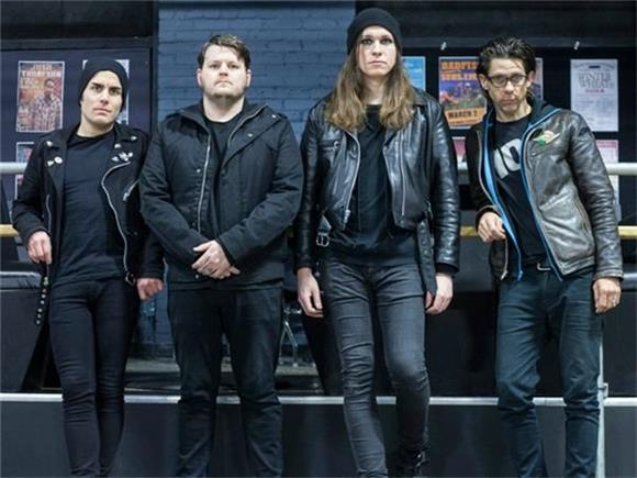 Against Me! Go to Space in 'Crash' Music Video