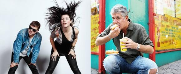 Anthony Bourdain Eats Crawfish With Sleigh Bells