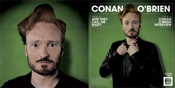listen: conan o'brien spoken word record