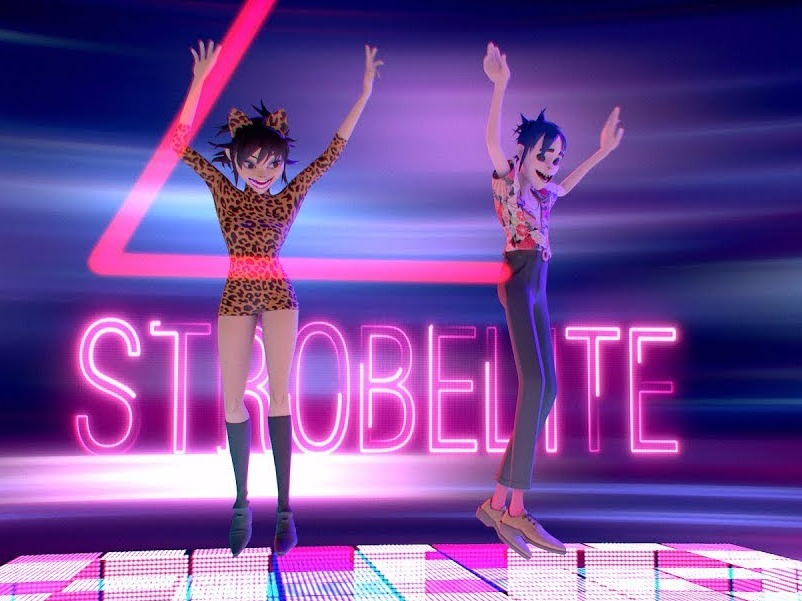 Gorillaz Light Up the Dance Floor in New Video for 'Strobelite'