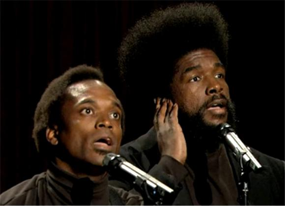 Black Simon and Garfunkel Perform A One Direction Tune
