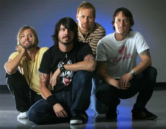 Late Night: Foo Fighters