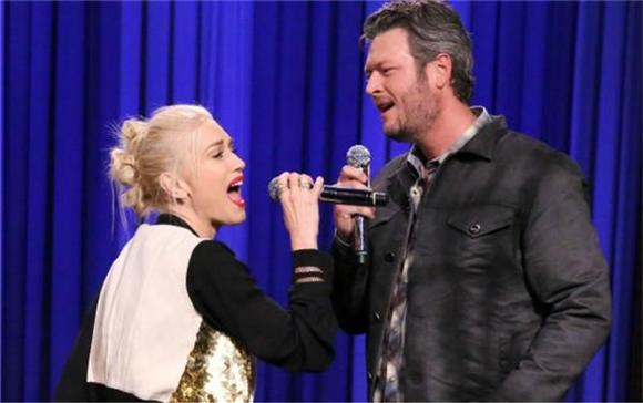 Gwen Stefani and Blake Shelton Take on 'Voice'-less Competition with Jimmy Fallon
