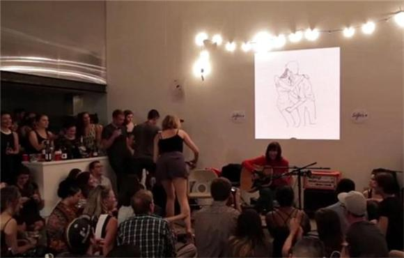 Karen O Performs 'Rapt' In Your Living Room
