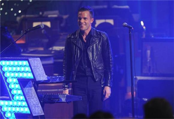 Late Night: Letterman Says Always Yes To The Killers