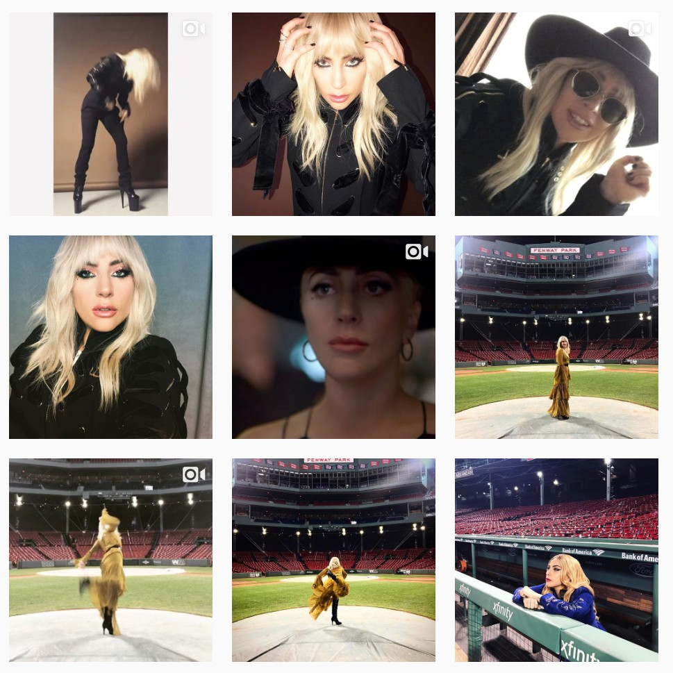 lady gaga instagram