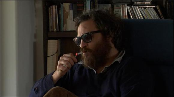 watch: joaquin phoenix on letterman, again