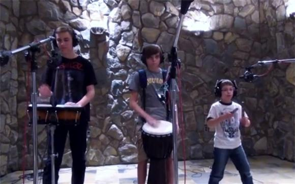 A Bunch Of Kids Covered Tool And It's Terrific