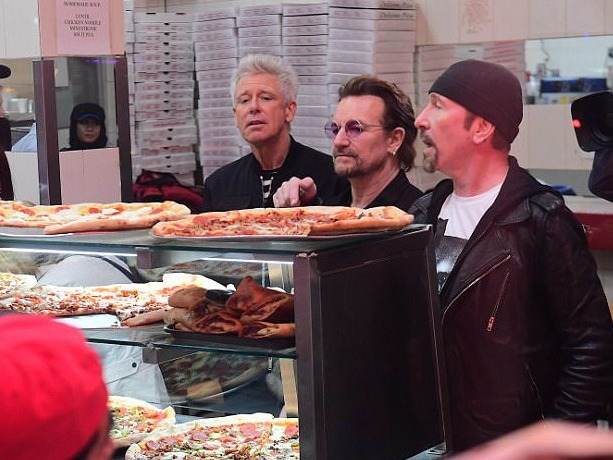 Watch Bono Eat Pizza in U2's New Video 'You're The Best Thing About Me'