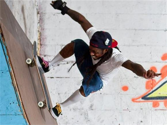 Lil Wayne and Conan O'Brien Get Some Virtual Skate Lessons From Tony Hawk