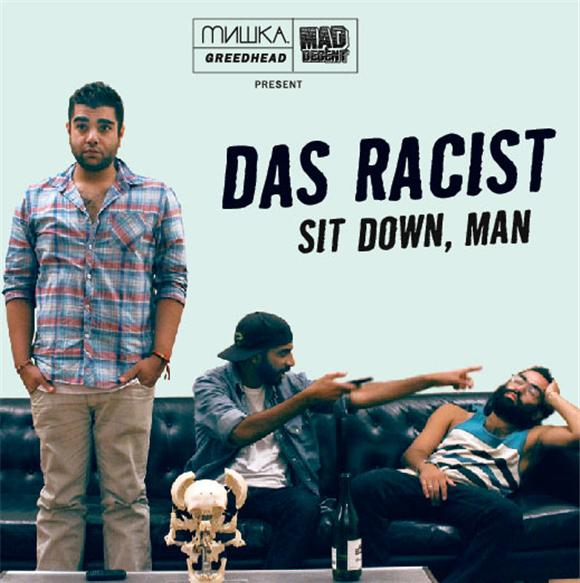 das racist sit down, man