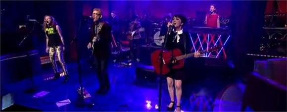 Watch: The New Pornographers Are Catchy Again on Letterman