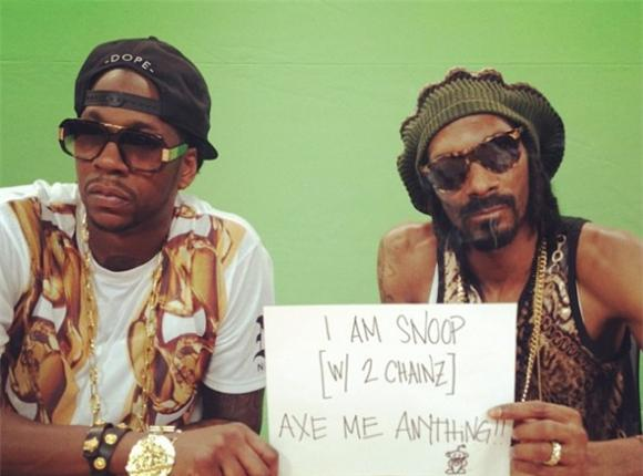The Best Of Snoop and 2 Chainz Reddit AMA