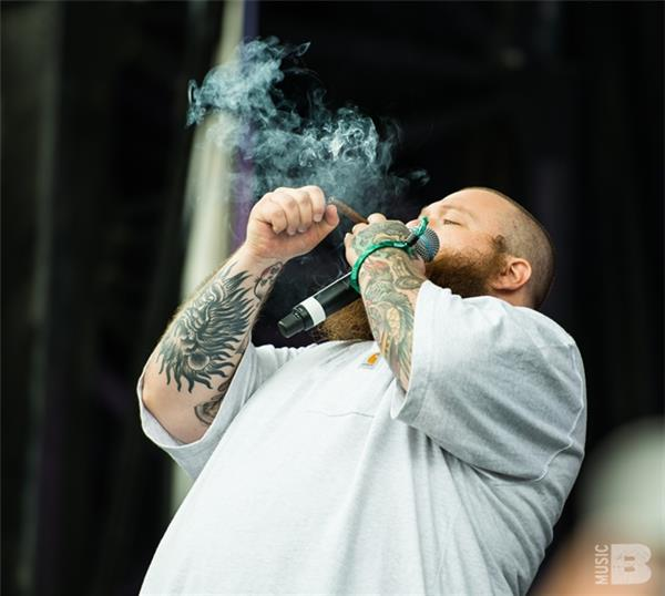 Action Bronson Governors Ball NYC 2016