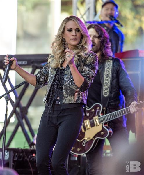 Carrie Underwood The Today Show