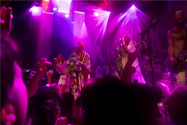 crystal fighters bowery ballroom new york city