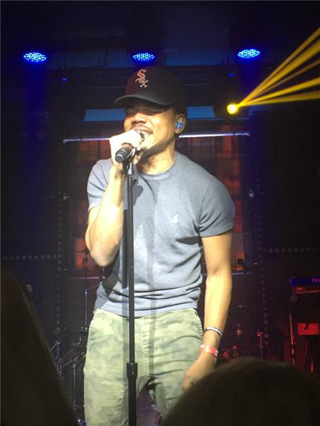 Chance the Rapper Flash Factory New York