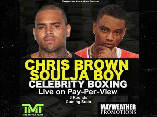 chris brown soulja boy feud beef boxing