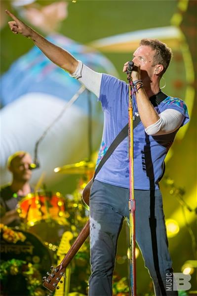 Coldplay Chris Martin Metlife Stadium