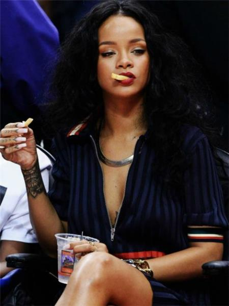rihanna fries