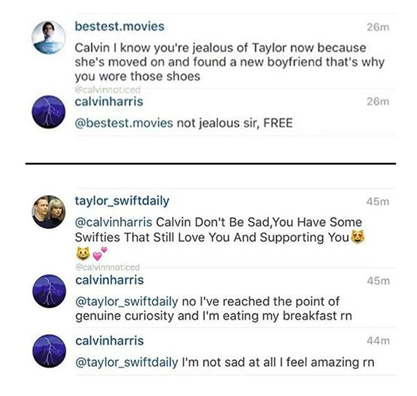 Calivin Harris and Taylor Swift