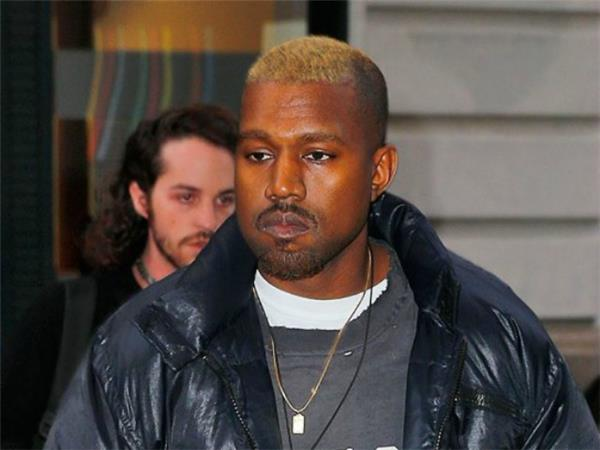 kanye blonde hair hospitalized
