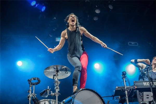 Matt and Kim Governors Ball NYC 2016