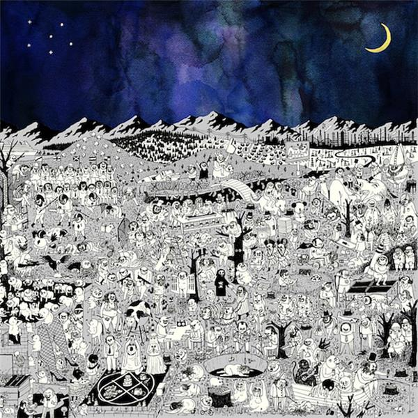 father john misty pure comedy artwork