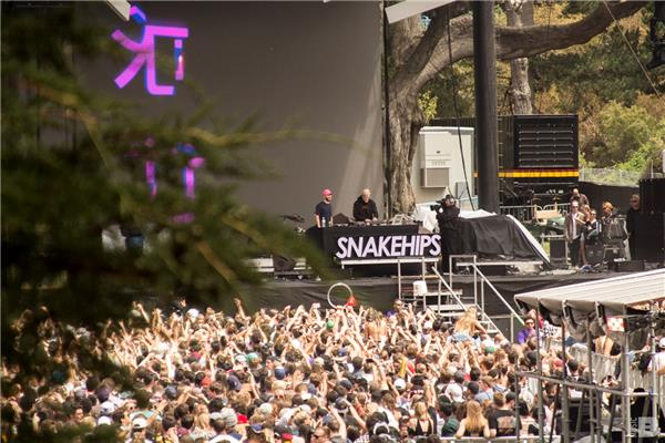 snakehips Outside Lands