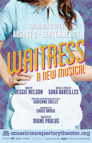 Waitress The Musical Poster