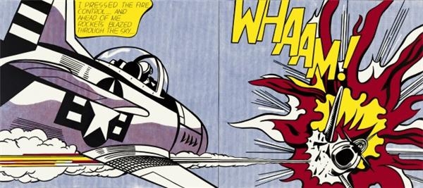 whaam roy lichtenstein
