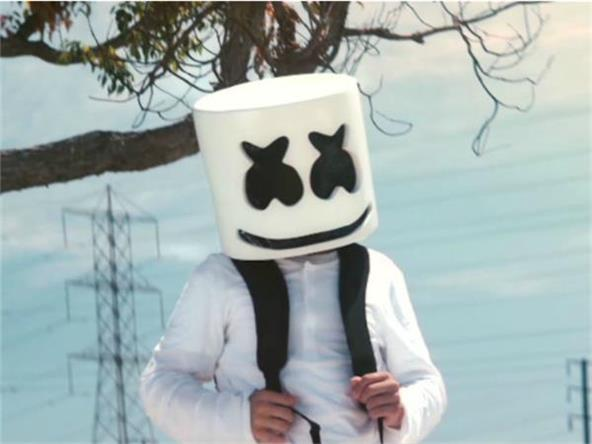 Music Video Marshmello Alone