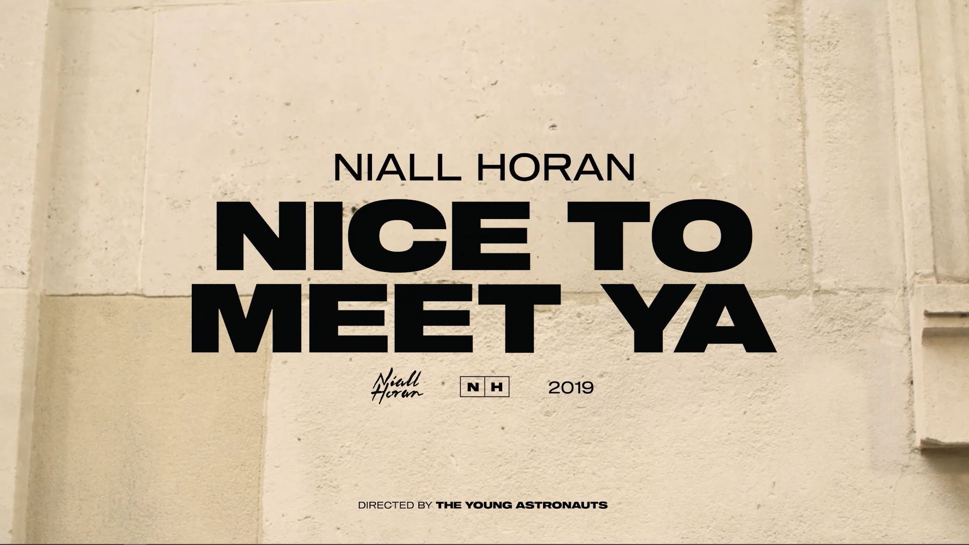 Niall Horan: Nice To Meet You