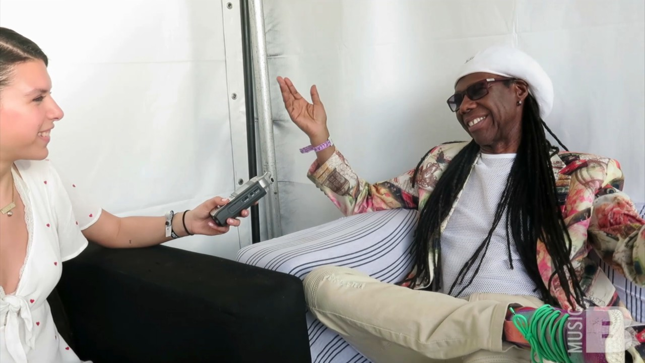 Nile Rodgers Exclusive Interview