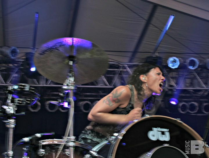 Matt & Kim - Bonnaroo Music and Arts Festival