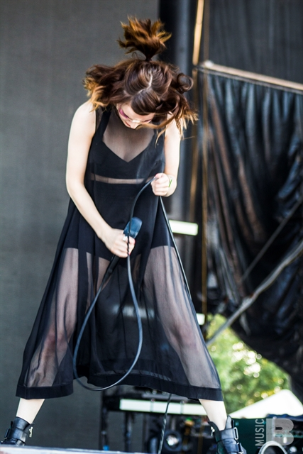 CHVRCHES - Bonnaroo Music and Arts Festival