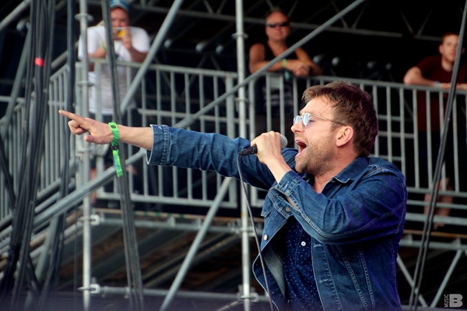 Damon Albarn - Bonnaroo Music and Arts Festival