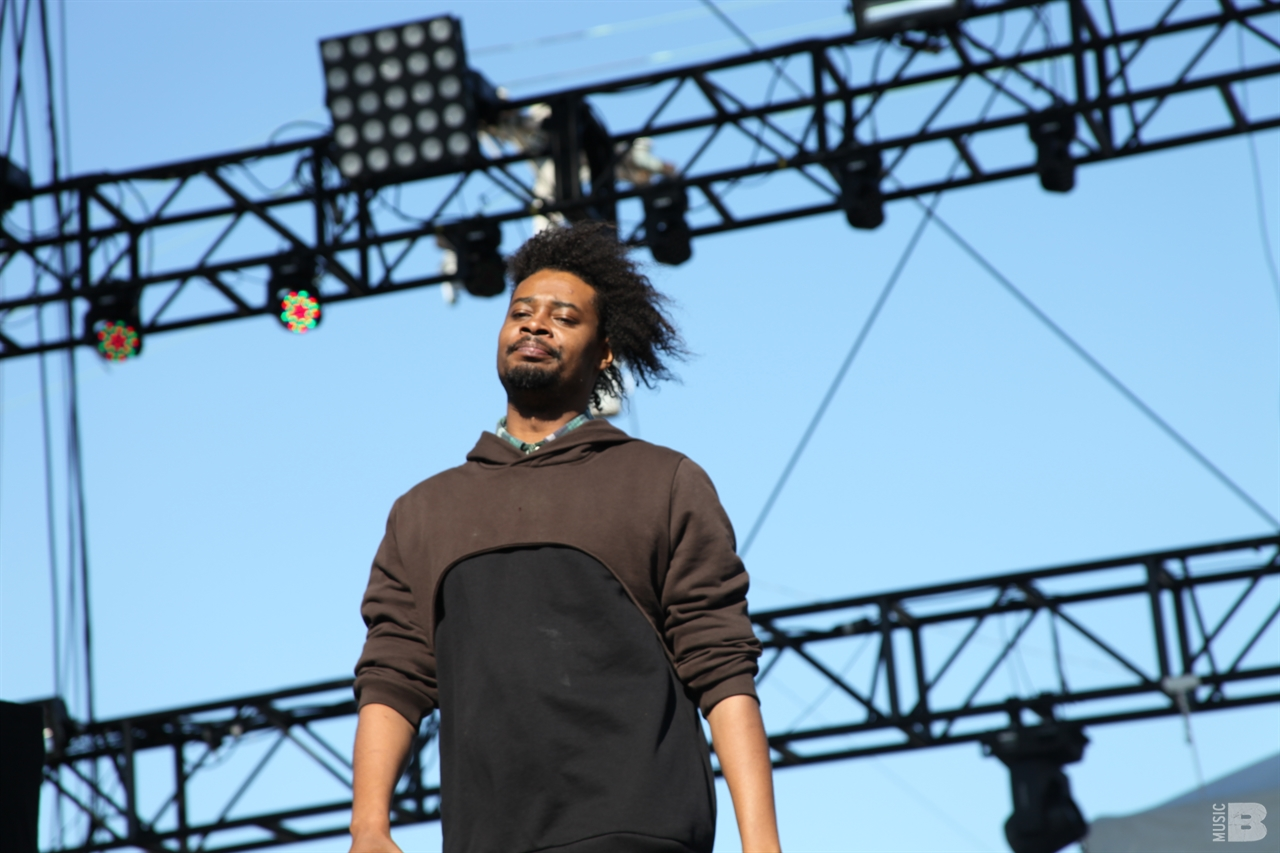 Danny Brown - Treasure Island Fesival